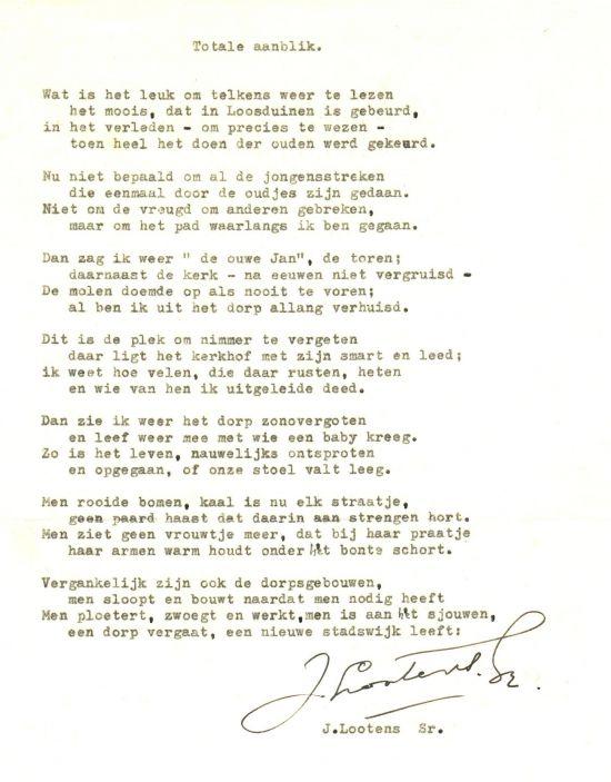 Haagse Herinneringen Gedichten